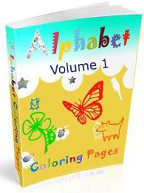 Big Alphabet Coloring Book Volume 1