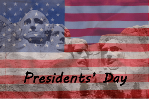 Presidents' Day Printable