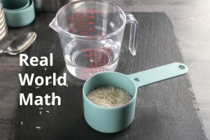 Real World Math Printable