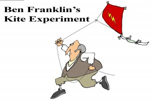 Ben Franklin's Kite Experiment Printable