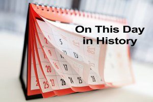 On This Day in History Printable