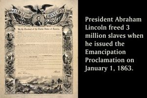 Emancipation Proclamation Printable