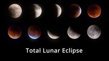 Total Lunar Eclipse Printable